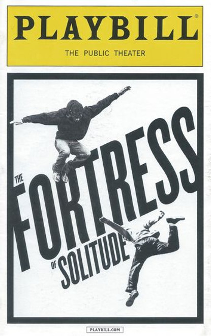 The Fortress of Solitude (Musical) - Public Theater NYC Playbill / Program Oct 2014 Cast: Ken Barnett, Kyle Beltran, Adam Chanler-Berat, Andre De Shields, Carla Duren, Stephane Duret, Brian Tyree Henry, Rebecca Naomi Jones, Jahi Kearse, Kevin Mambo, Malaiyka Reid, David Rossmer, Conor Ryan, Kristen Sieh, Britton Smith, Akron Watson, Alison Whitehurst, Juson Williams Directed by Daniel Aukin