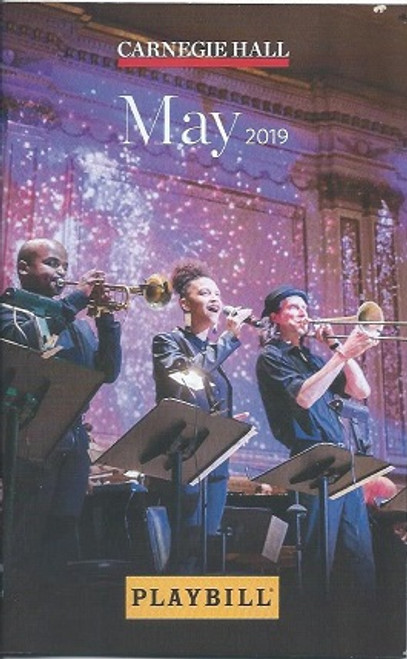 Carnegie Hall May 2019