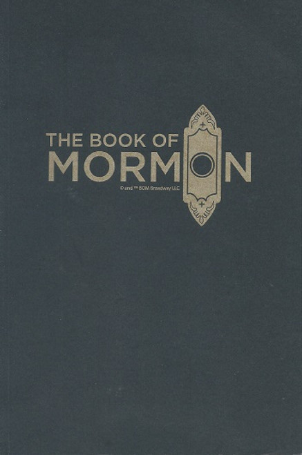 Book of Mormon The - Broadway Musical Brown Note Books