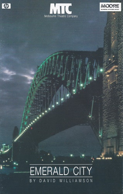 Emerald City by David Williamson Melbourne Theatre Company 1987