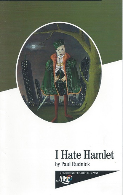 I Hate Hamlet by Paul Rudnick Melbourne Theatre Company Production 1992 Cast: Nicki Wendt, Guy Pearce, Natasha Herbert, Joan Sydney, Tony Sheldon, Gary Day