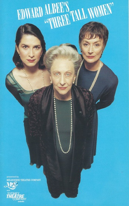 Three Tall Women by Edward Albee Sydney Theatre Company and Melbourne Theatre Company Production 1995
