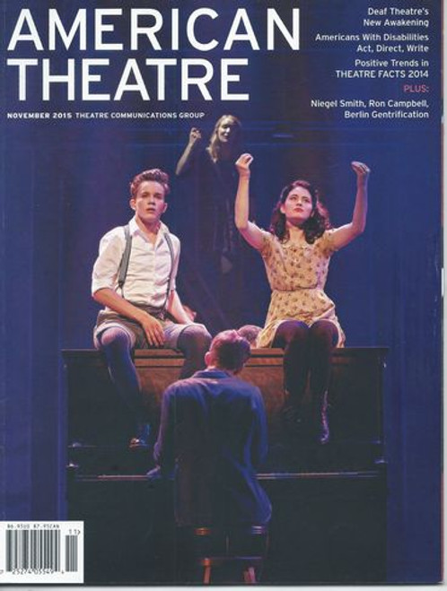 American Theatre Magazine November 2015 Theatre Communications Group