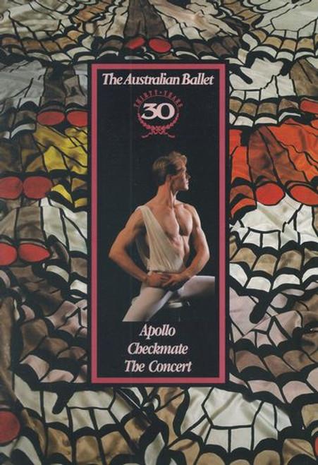 Apollo - Checkmate - The Concert Australian Ballet 1992 State Theatre Melbourne Australia