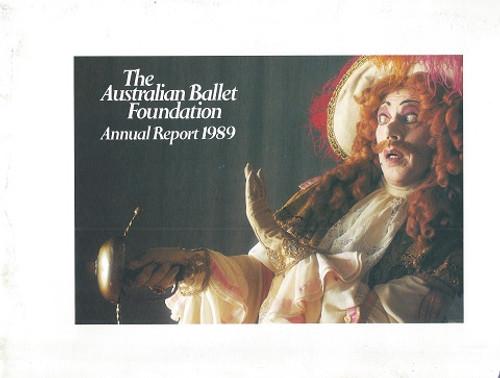 Australian Ballet Annual Report 1989
