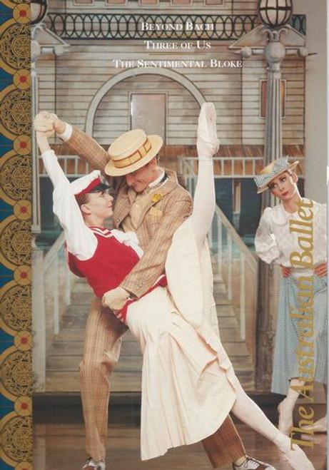Beyond Bach - Three of Us - The Sentimental Bloke  Australian Ballet 1995 State Theatre Melbourne