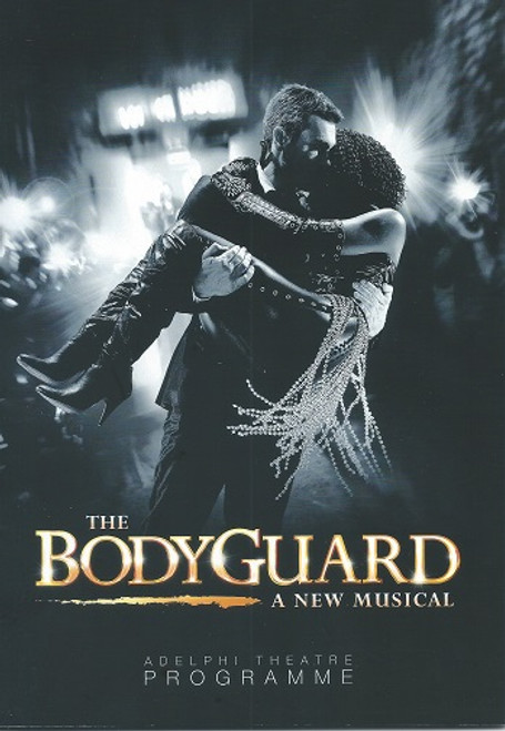 The Bodyguard - London Adelphi Theatre 2013 Lloyd Owen and Heather Headley UK Program/Playbill