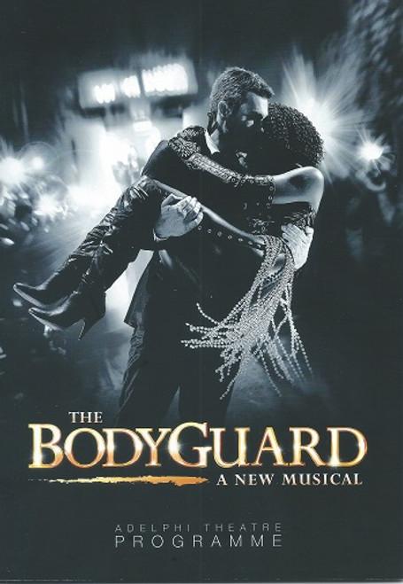 The Bodyguard - London Adelphi Theatre 2013 Lloyd Owen and Heather Headley UK Program/Playbill