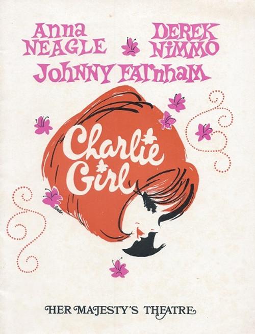 Charlie Girl - Melbourne 1971 Anna Neagle - Derek Nimmo - Johnny Farnham Her Majesty's Theatre Melbourne
