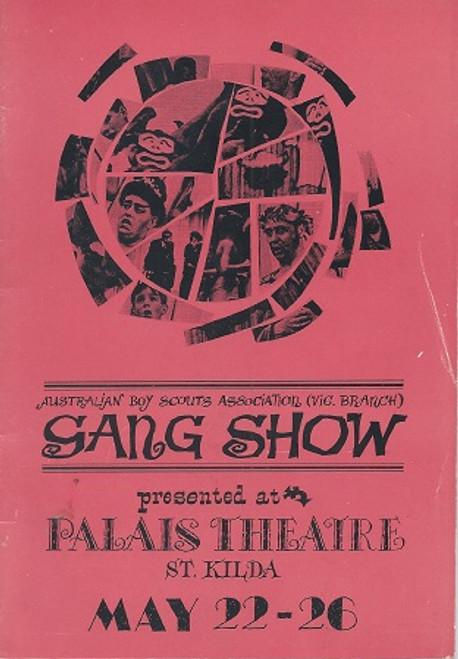 Gang Show  Boy Scouts Association  Palais Theatre Melbourne 1964