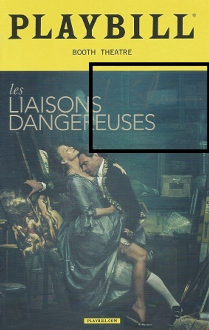 Les Liaisons Dangereuses ( Oct 2016 Play) Signed by Live Schreiber Janet McTeer, Liev Schreiber – Booth Theatre