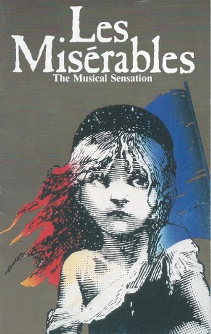 Les Miserables (Musical) Alain Boublil, Claude-Michel Schonberg Theatre Royal Sydney 1988 Normie Rowe, Philip Quast, Simon Burke Playbill / Program