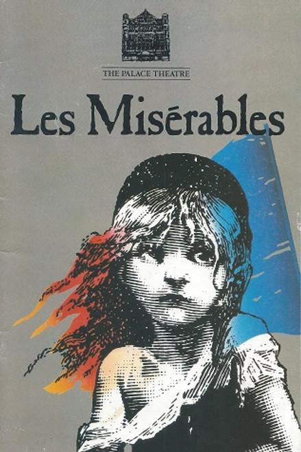 Les Miserables (Musical) 1989 Peter Karrie, David Burt, Linzi Hateley, Christopher Howard 1989 Season at the Palace Theatre London.