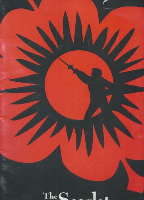 The Scarlet Pimpernel (OBC 1997) Douglas Sills, Rex Smith,Rachel York, James Bohanek – Minskoff Theatre.