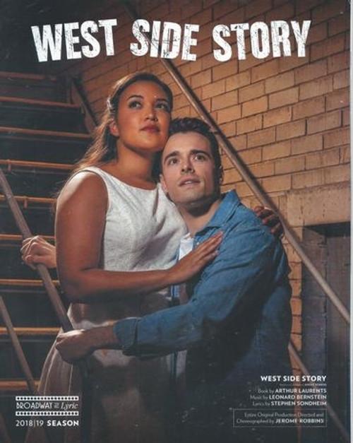 West Side Story Lyric Opera of Chicago 2019 Corey Cott, Mikaela Bennett, Amanda Castro, Brett Thiele