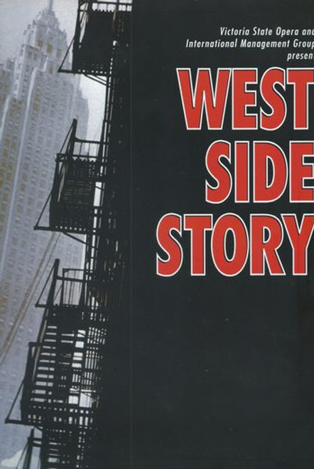 West Side Story (Musical) - Australian National Tour 1994 - 95 Peter Cousens, Maree Johnson, Caroline O'Connor, Chris Bakis, Rohan Seinor, Eden Gaha, Wayne Scott Kermond, Stephen Butterworth