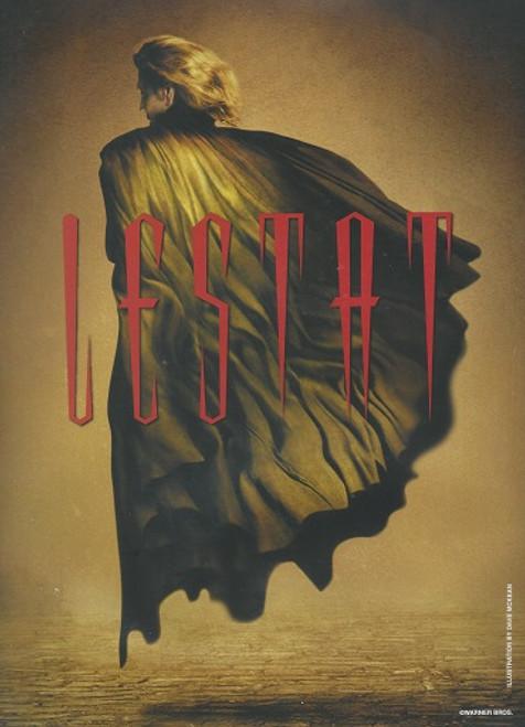 Lestat (Musical) Hugh Panaro-Carolle Carmello-Jack Noseworthy-Jim Stanek Souvenir Brochure Water Damage