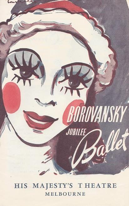 Borovansky Ballet Australian Tour 1951 Her Majesty's Theatre Melbourne Dancers: Feodor Shevlugin, Sandra Vane, John Auld, Desmond Meyers, Graham Smith, Dorothy Stevenson