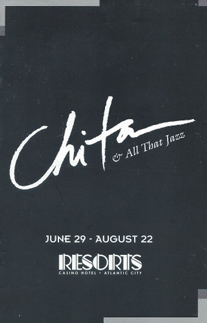 Chita & All That Jazz - Resorts Casino Hotel  Atlantic City 1998 - Chita Rivera