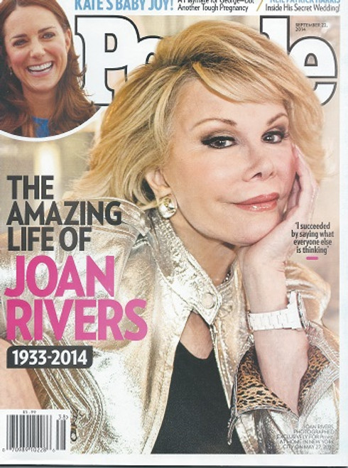 People Magazine - September 2014 Joan Rivers - Amazing Life 1933 - 2014