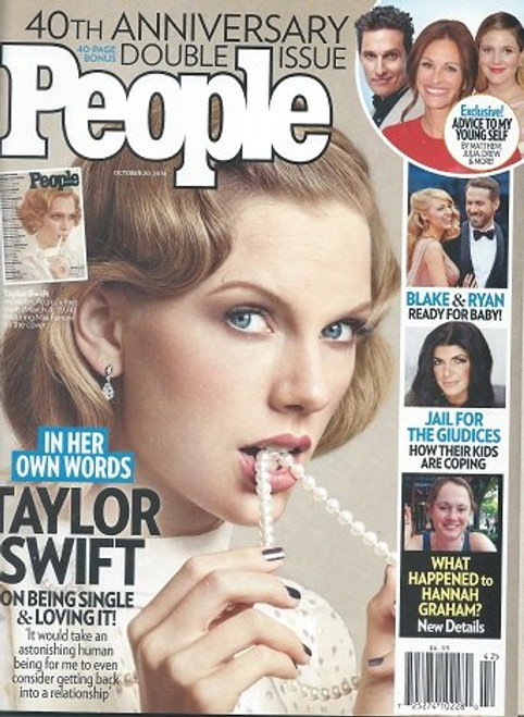 People Magazine - October 2014 40th Anniversary Double Issue