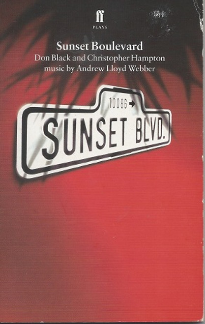 Sunset Boulevard the Musical Paperback - Book of Musical release date paperback 1992