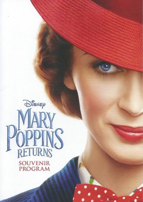 Mary Poppins Returns (Film) Emily Blunt, Lin-Manuel Miranda, Colin Firth, Julie Walters, Meryl Streep, Dick Van Dyke, Angela Lansbury, Ben Whishaw, Emily Mortimer