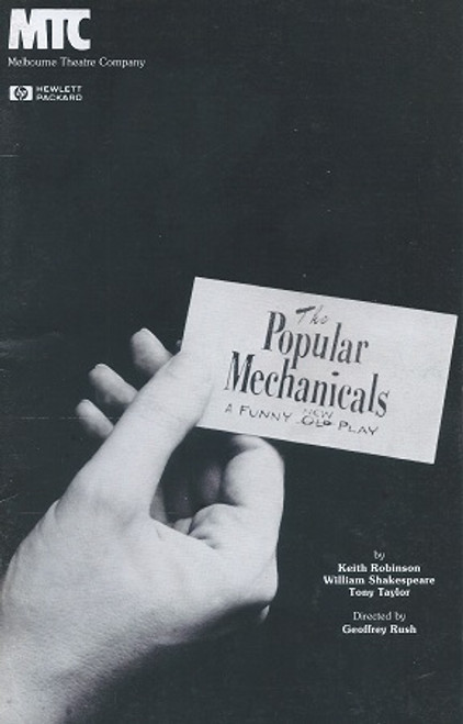The Popular Mechanicals (Play) Keith Robinson, Peter Rowley, Gillian Hyde, Tony Taylor, Paul Blackwell, Monica Maughan, Ralph Mowldie
