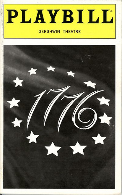1776  is a musical with music and lyrics by Sherman Edwards and a book by Peter Stone. It is based on the events leading to the writing and signing of the United States Declaration of Independence in Philadelphia, Pennsylvania