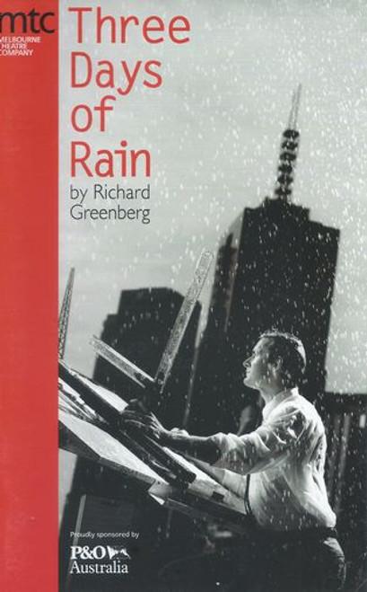 Three Days of Rain MTC - Nicki Wendt, Paul Bishop, Wayne Hope Director Kate Cherry