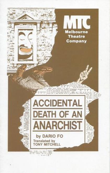 Accidental Death of an Anarchist MTC - Max Gillies, Tony Taylor, John Turnbull, Russell Newman, Robert Giltinan, Deborah Kennedy