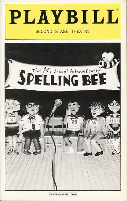 The 25th Annual Putnam County Spelling Bee is a one act musical comedy conceived by Rebecca Feldman with music and lyrics by William Finn, a book by Rachel Sheinkin and additional material by Jay Reiss.