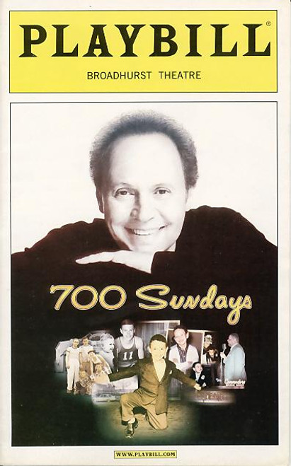 700 Sundays is an autobiography written by Billy Crystal. It is all about the people who made Billy the man he is. The book also serves as a memoir to his father, Jack Crystal, who died of a heart attack when Billy was only 15 years old.