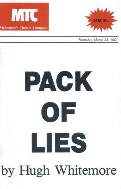 Pack of Lies MTC - George Mallaby, Kerry Walker, Bernadette Ryan, Betty Bobbitt, Peter Curtain, Charles Tingwell, Anne Scott Pendlebury, Jan Friedl