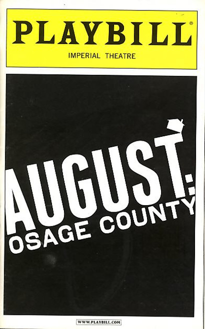 August: Osage County is a darkly comedic play by Tracy Letts. It was the recipient of the 2008 Pulitzer Prize for Drama.