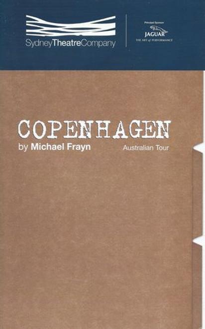 Copenhagen STC - Jane Harders, John Gaden, Robert Menzies Director - Michael Blakemore