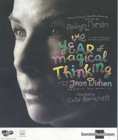 The Year of Magical Thinking QTC - Roryn Nevin Director - Cate Blanchett