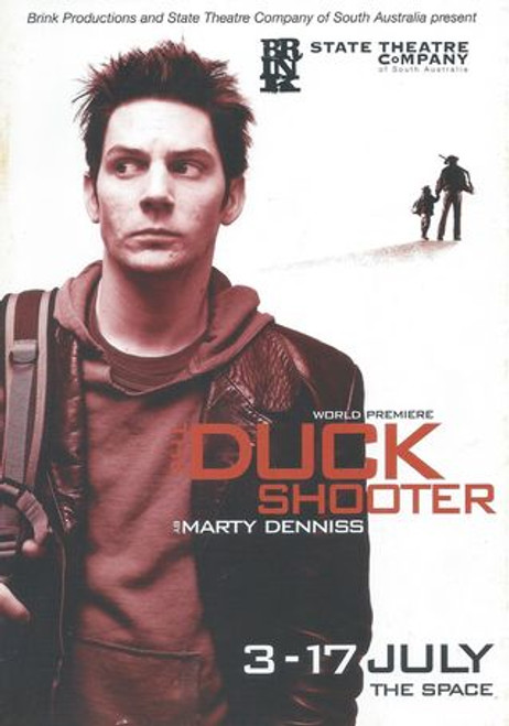 Duck Shooter State Theatre Company of South Australia - William Allert, Cameron Goodall, David Mealor, Rory Walker