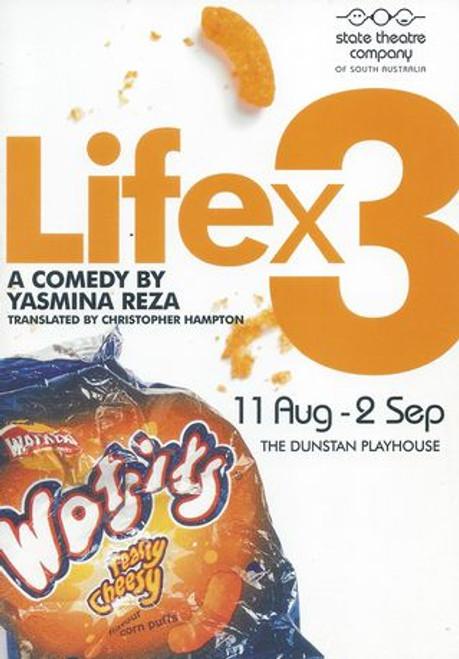 Life x 3 State Theatre SA 2006 - Carmel Johnson, Caroline Mignone, Geoff Revell, William Zappa, Nicholas Pernini Director - Adam Cook