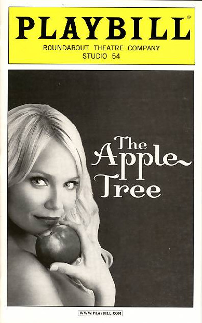 The Apple Tree is a series of three musical playlets with music by Jerry Bock, lyrics by Sheldon Harnick, and a book by Bock and Harnick with contributions from Jerome Coopersmith.