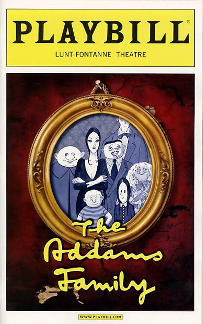 The Addams Family  is a musical comedy with music and lyrics by Andrew Lippa and a book by Marshall Brickman and Rick Elice. The show is based upon The Addams Family characters created by Charles Addams in his single-panel gag cartoons, which depict a ghoulish American family with an affinity for all things macabre.