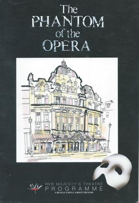 Phantom of the Opera London Cast - John Owen-Jones, Sofia Escobar, Tabitha Webb, Will Barratt, Wndy Ferguson, Barry James, Gareth Snook, Cheryl McAvoy, Rohan Tickell, Anna Forbes