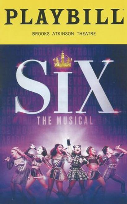 Six Broadway 2020 Cast - Adrianna Hicks, Andrea Macasaet, Abby Muller, Brittney Mack, Samantha Pauly, anna Uzele Director - Lucy Moss and Jamie Armitage