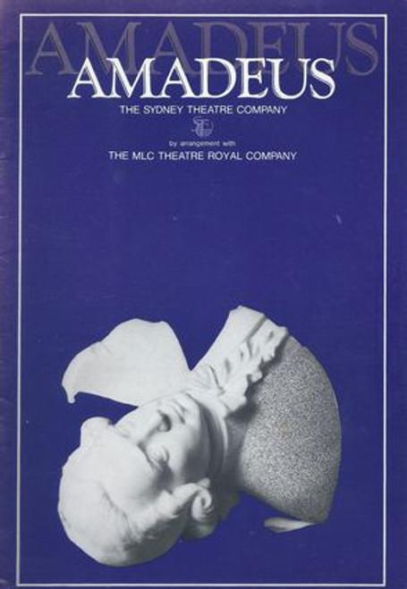 Amadeus by Peter Shaffer Sydney Theatre Company 1982
