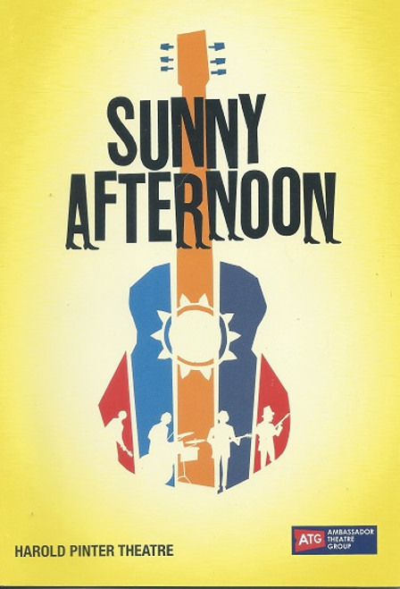 Sunny Afternoon Cast - Carly Anderson, Jason Baughan, Philip Bird, John Dagleish, Ned Derrington, Lillie Flynn, Emily Goodenough, Elizabeth Hill, Vince Leigh, George Maguire, Amy Ross, Jo Servi, Adam Sopp, Dominic Tighe, Tam Williams Director - Edward Hill