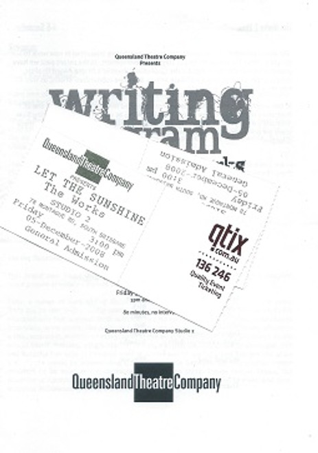 Queensland Theatre Company Writing Program