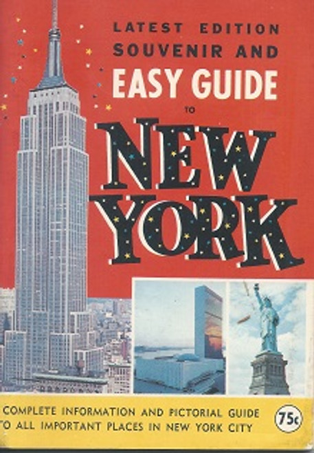 New York City Guide Book 1970 A Complete Information
