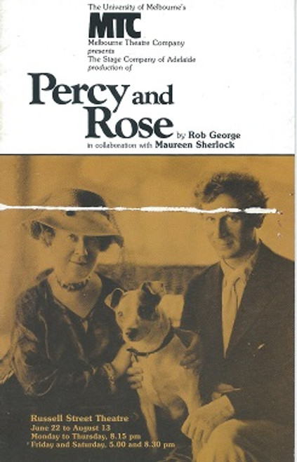 Percy and Rose - Melbourne Theatre Company 1983 by Rob George - Collaboration with Maureen Sherlock