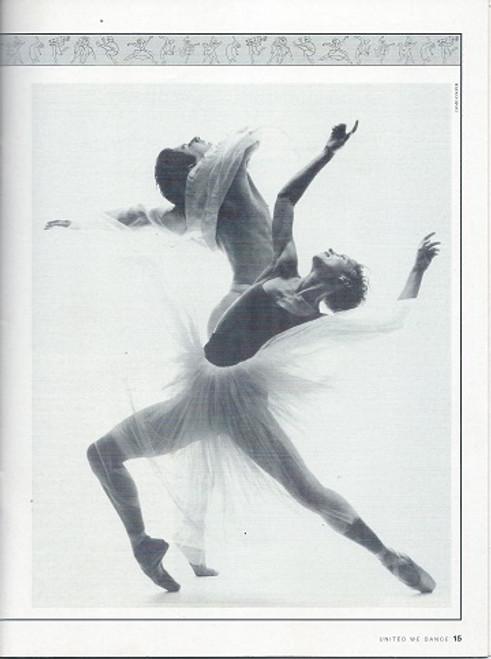 Australian, British Columbia, Shaghai, Nat Ballet of Cuba, Danish, Leipzig, Aterballetto, Tokyo, Dutch, Bolshoi, Rambert, San Francisco, Caracas Ballet Companies Souvenir Program Date 1995