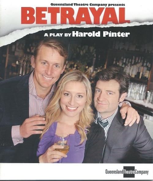 Betrayal QTC Cast - Paul Bishop, Sibylia Budd, Hugh Parker, Peter Scabissi  Director - Jon Halpin